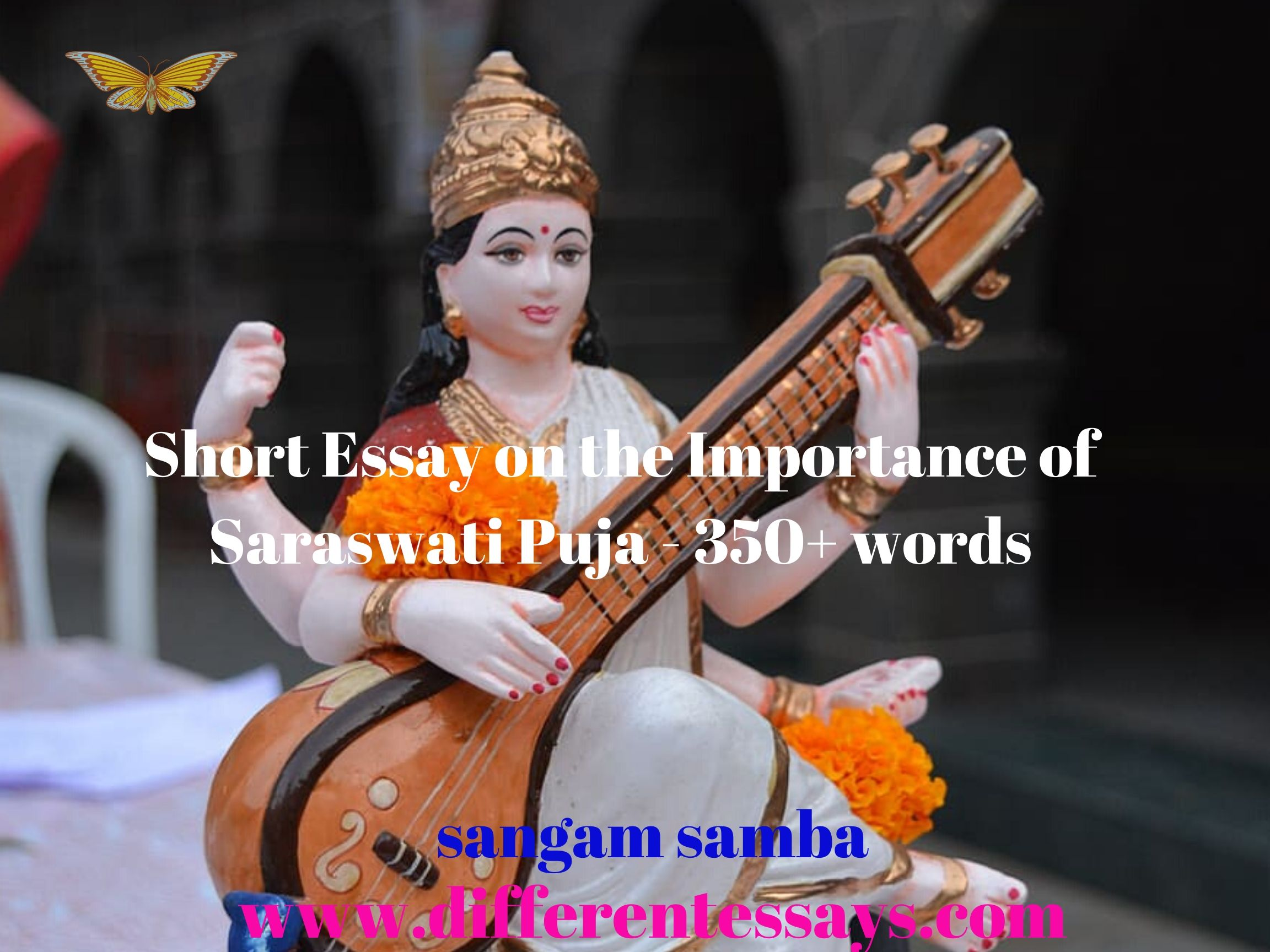Short Essay on the Importance of Saraswati Puja - 350+ words
