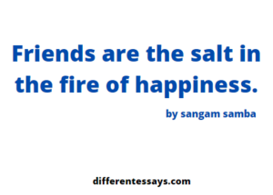 Story on the friendship between Sangam and Dibas-500+words